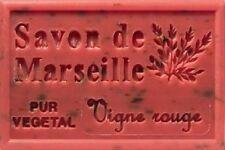 savon de marseille a la vigne rouge