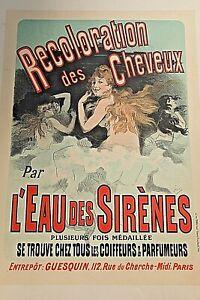 Jules Cheret original Maitres de l' Affiche lithograph art nouveau Cheveaux
