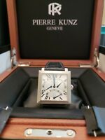 Mans, Factory Serviced and Refinished Pierre Kunz Triple Retrograde  ,38mm,18KWG