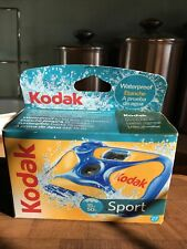 New ListingKodak Sport Waterproof 35mm One-Time-Use Disposable Camera, 27 Exposures N.O.S.