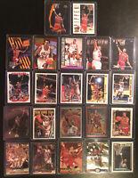 Scottie Pippen 22 Card Lot Inserts Rare