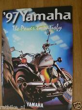 HAP-202 YAMAHA BROCHURE ALL MODELS 1997 GERMAN 22 PAGES,YZF1000R,SR500,ROLLER