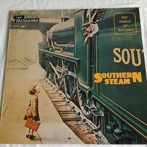 THE WORLD OF RAILWAYS - SOUTHERN STEAM LP (TRAIN SOUNDS)