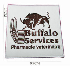 Buffalo Iron on Embroidered Sew Patch Badge Patches Crafts Lot of designs  #52