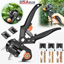 Pruning Shears Knife Scissor Garden Nursery Fruit Tree Grafting Cutting Tools US
