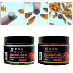 Healthy Nutrition Fishes Tablets Flakes Compressed Ornamental Tropical Pets Feed