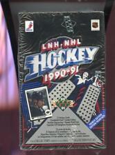 1990-91 Upper Deck Hockey Wax Pack Box FRENCH EDITION SET FACTORY 1991 LNH NHL