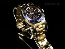 Invicta 43mm Men's Submariners Pro Diver Chrono 18KGIP 2Tone Bracelet SS  Watch