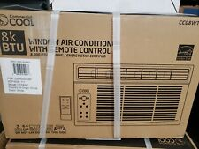 Commercial Cool 8,000 Btu Window Air Conditioner with Remote