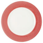 Greengate Plate Alice Coral 26,5 CM Diner Plate Everyday Dishes Coral