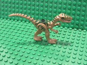 LEGO Olive Green Coelophysis Minifigure from Set 5887 Dino Defense HQ Raptor R87