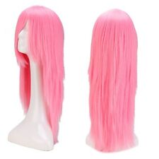 Hot Sale Cosplay Hair Wig Women Long Straight Curly Party Ombre Costume Full Wig