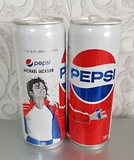Michael Jackson Collectible Pepsi Cans-Dose Rare 2018 from Georgien 2-pcs