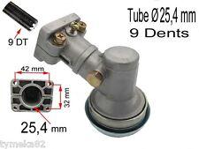 Renvoi D/'Angle Insert Débroussailleuse 9 Dent pour Nemaxx MT52 4in1 Sens Du