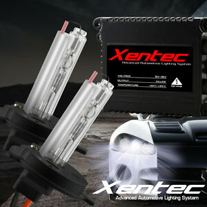 55W 9006/HB4 Low Beam HID Headlight Conversion Kit Slim Ballasts Xenon Bulbs 10k