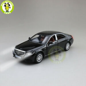 1/32 Benz S CLASS S600 Diecast MODEL CAR Toys for kids Pull Back Sound Gifts
