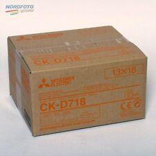 MITSUBISHI CK D718 13x18 cm für 460 Bilder (2x230)