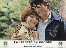 JULIETTE VILLARD LA LIBERTE EN CROUPE 1970  PHOTO D'EXPLOITATION #3