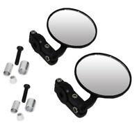 Motorcycle 7/8'' Handlebar Rearview Mirrors For Suzuki Katana GSX 1100 600 750