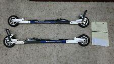 V2 Roller Skate Skis Xl98Rm Composite Carbon Fiber with Fischer R3 Bindings