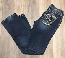 Silver Jeans Suki Surplus Womens Jeans Size 27x33 Slim Boot Cut Button Pockets