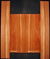 Guitar Luthier Tonewood Quartersawn Padauk Acoustic backs sides Set
