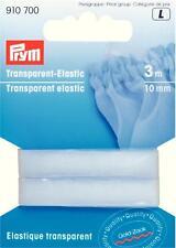 3m Transparent Elastic 1,13 Euro/m Prym 910700 Gummilitze transparent Gummiband