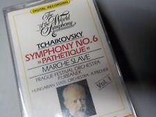 """NEW Tchaikovsky CASSETTE """"Pathetique"""" Marche Slave LaserLight World Symphony"""