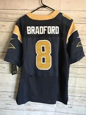 7774ceabc55 NFL Rams Football Jersey Sam Bradford  8 Nike on Field Mens Medium