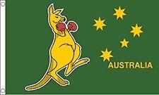 Boxing Kangaroo Small Flag 3ft X 2ft