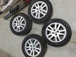 "Honda Insight Hybrid Set Of 15"" Alloy Wheels With Tyres 195/65/15"