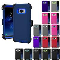 For Samsung Galaxy S7/S7 EDGE S8/S8 Plus Case Belt Clip Holster fits Otterbox