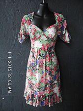 Pretty~Cooper St~DRESS Sweet Heart Neck Line, Frill Hem-Chiffon Style~6
