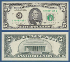 USA 5 Dollars 1988A UNC (G Chicago)  P. 481 b
