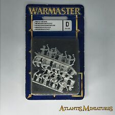 Alto elfo arqueros Blister-Fuera de imprenta-Warmaster WARHAMMER C953