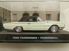 James Bond voitures collection 111 FORD Thunderbird Thunderball
