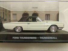 JAMES BOND CARS COLLECTION 111 Ford Thunderbird Thunderball
