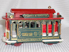Vintage San Fransisco Powell & Hyde Street Cable Car Music Box