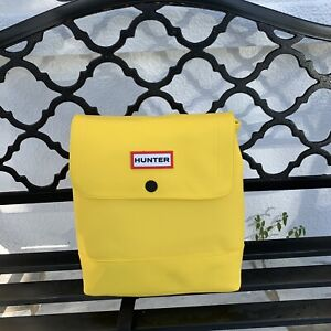 NWT Sold Out Hunter For Target Medium Backpack Yellow In Hand 20 Anniversary Bag