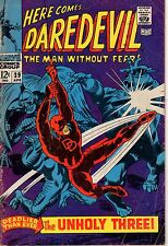 Daredevil 39 SILVER AGE - 1969 VG Marvel Comics