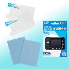 Sony Cyber-shot DSC-RX0 LCD Screen Film Protector Scratch Resistance JJC LCP-RX0
