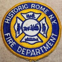 NY Rome New York Fire Patch