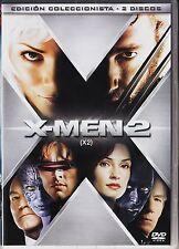 Bryan Singer: X-MEN 2 (Ed. colección, 2 DVD) España tarifa plana envíos DVD 5 €