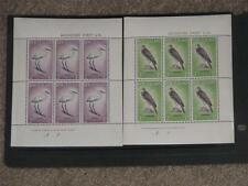 New Zealand-Birds Scott# B61-B62 Miniature Sheets, MNH