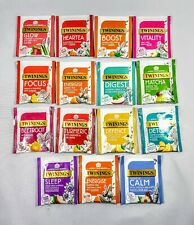 Twinings Superblends The Full Range 15 Flavours. 60 Envelopes