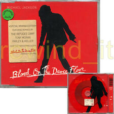 """MICHAEL JACKSON """"BLOOD ON THE DANCE FLOOR"""" CDs 1997 - SPECIAL MINIMAX EDITION"""