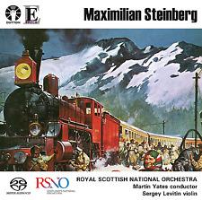 """Maximilian Steinberg: Violin Concerto, Symphony No. 4 """"Turksib"""" - CDLX7341"""