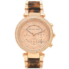 MICHAEL KORS PARKER CHRONOGRAPH WOMENS WATCH MK5538 ROSE GOLD DIAL RRP £279.00