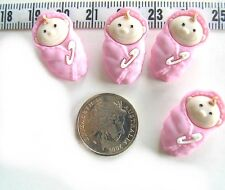 Novelty Buttons Scrap book Baby Girl Baby Doll #216