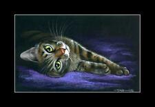 Tabby Cat Print Why Wake Me by I Garmashova